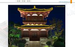 宿州泗县清水湾公园夜景亮化