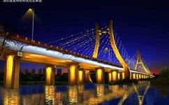 洛阳凌波桥照明亮化