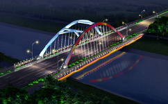 六安二元路桥照明亮化